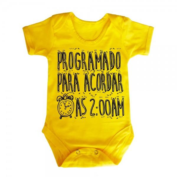 body-bebe-amarelo-gravata
