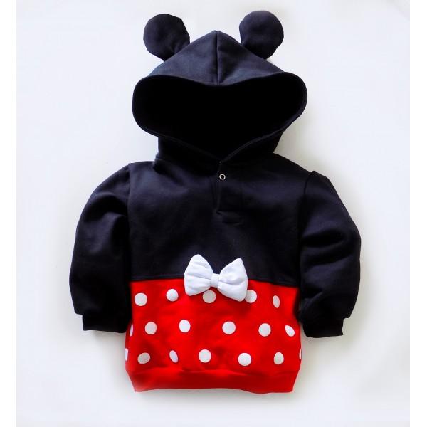 817d457c4e Fantasia Infantil - Moletom Minnie Mouse - Moletons Divertidos de M ...