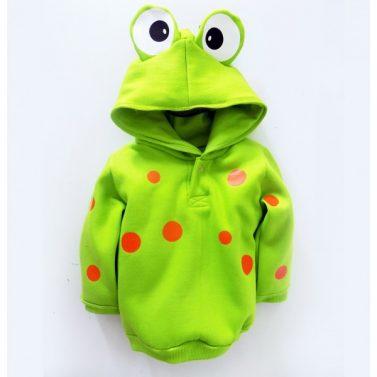 roupa-infantil-blusao-sapo