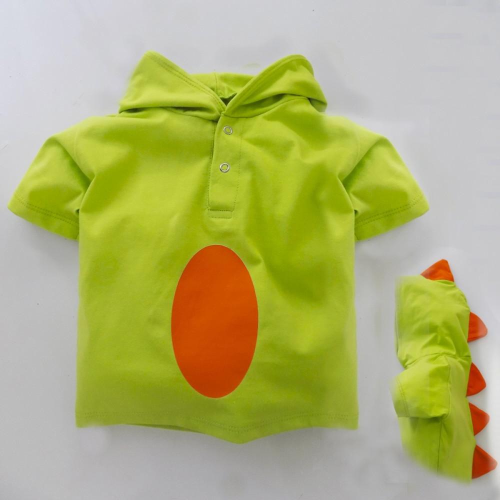 0998b374b7 Fantasia Infantil - Camiseta Dinossauro - Camisetas Divertidas de 1 ...