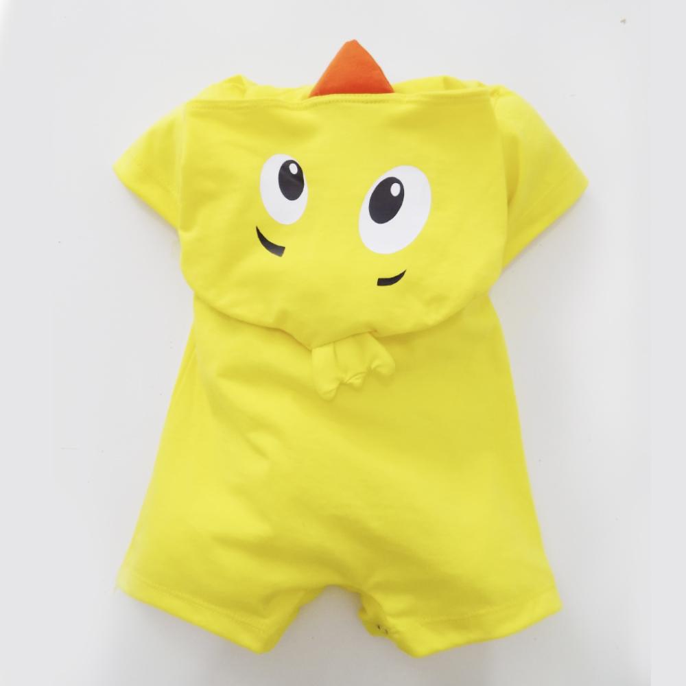10a0d41bddb8e Fantasia Infantil - Macacão Pintinho Amarelinho - de RN até 4 anos
