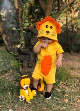 macacão leão